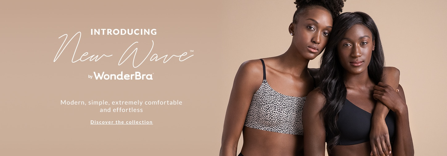 Introducing New Wave by WonderBra. Modern, simple,extremely comfortable and effortless