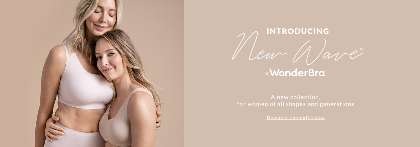 Introducing New Wave by WonderBra. A new collection, for women of all shapes and generations